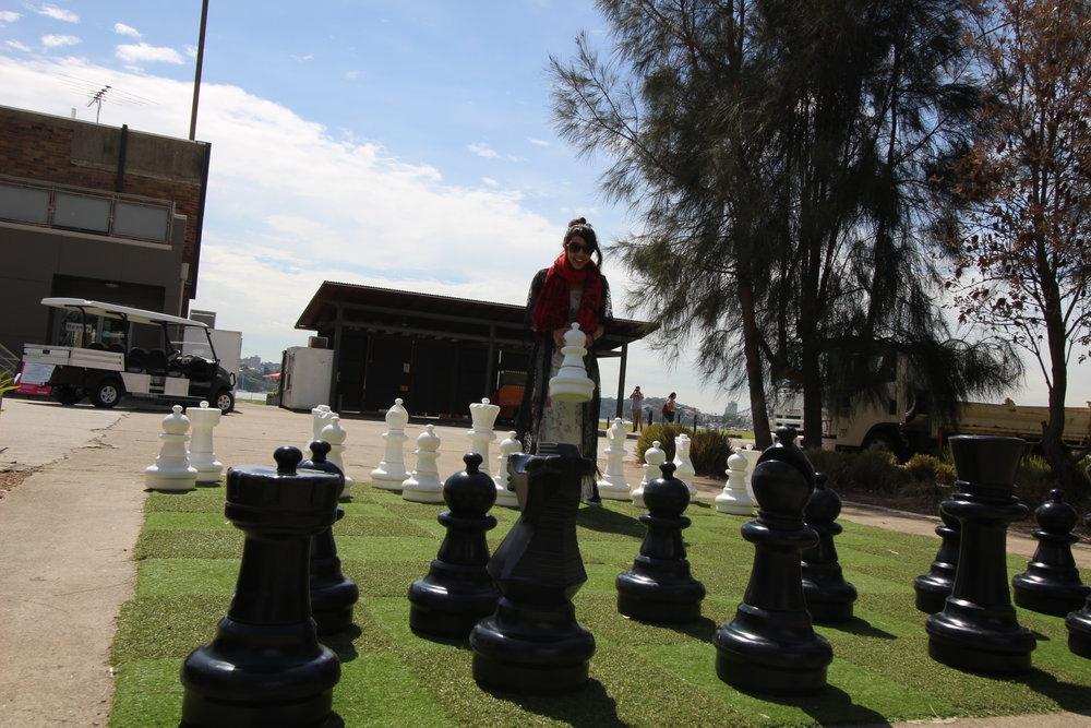 多きなチェスボード