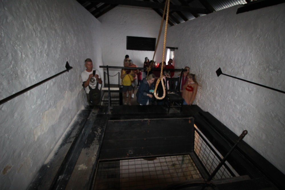 hanging gallows in freemantle prison