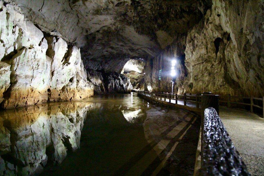 Cueva Akiyoshido en Japon