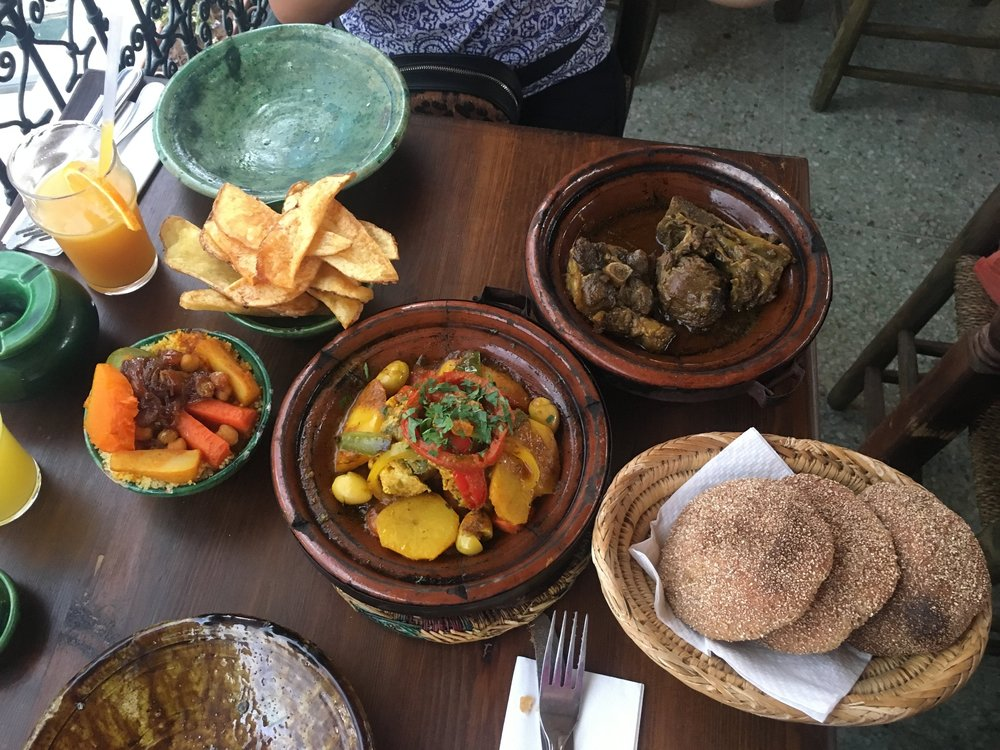 Camel meat in Morocco