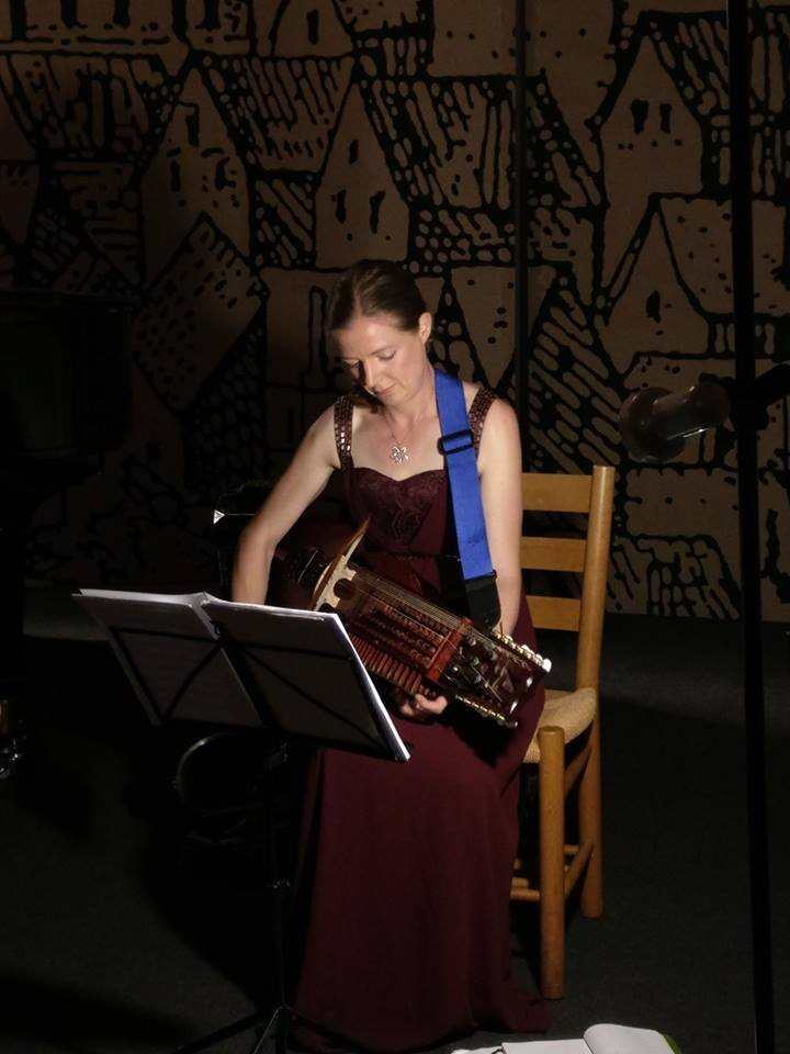 Bild från Klosterkyrkan i Ystad 2016, konsert med Zarassi Trio.