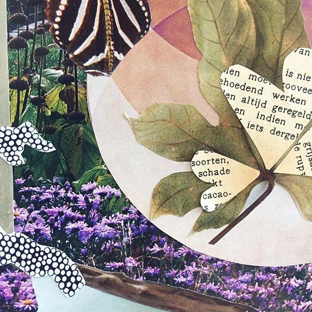 Detail #collage #paperart #papercut #workshops