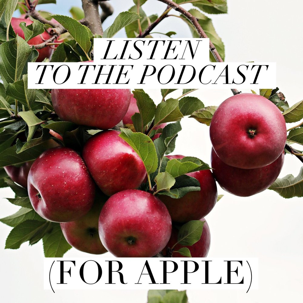 Button: Listen to the Podcast (Apple)