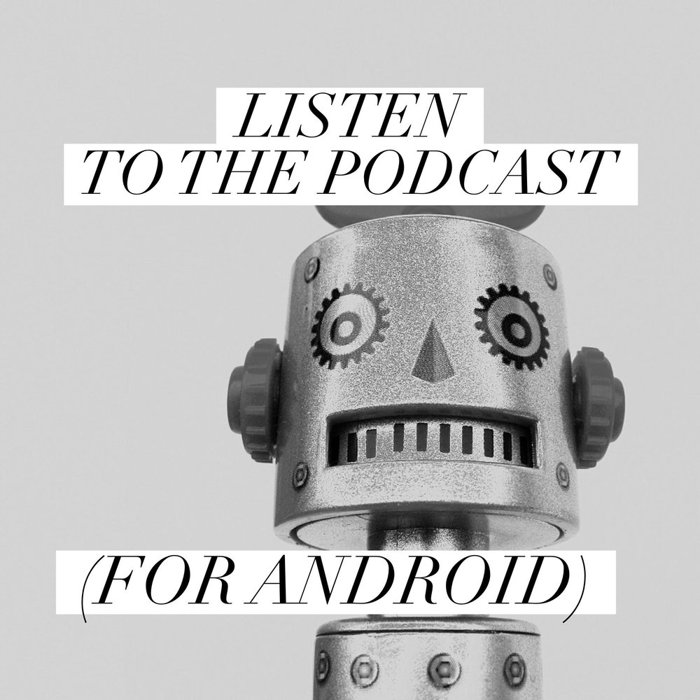 Button: Listen to the podcast (Android)