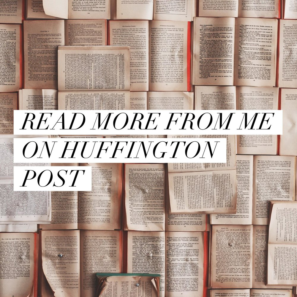 Button: Read more from me on Huffington Post