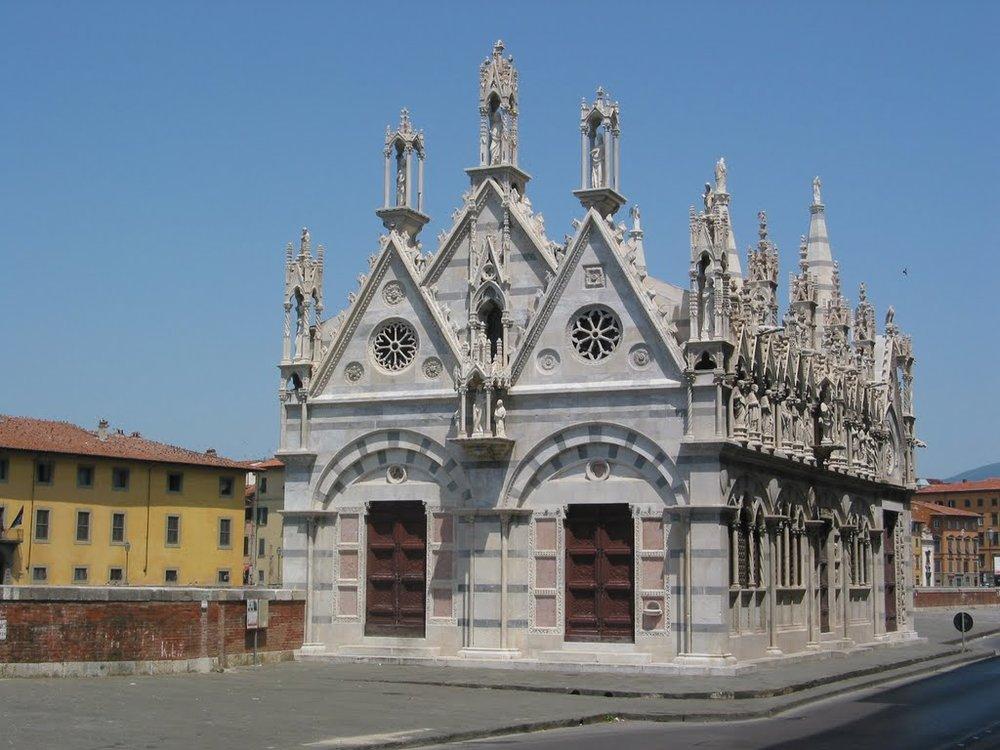 Igreja de Santa Maria della Spina, Pisa