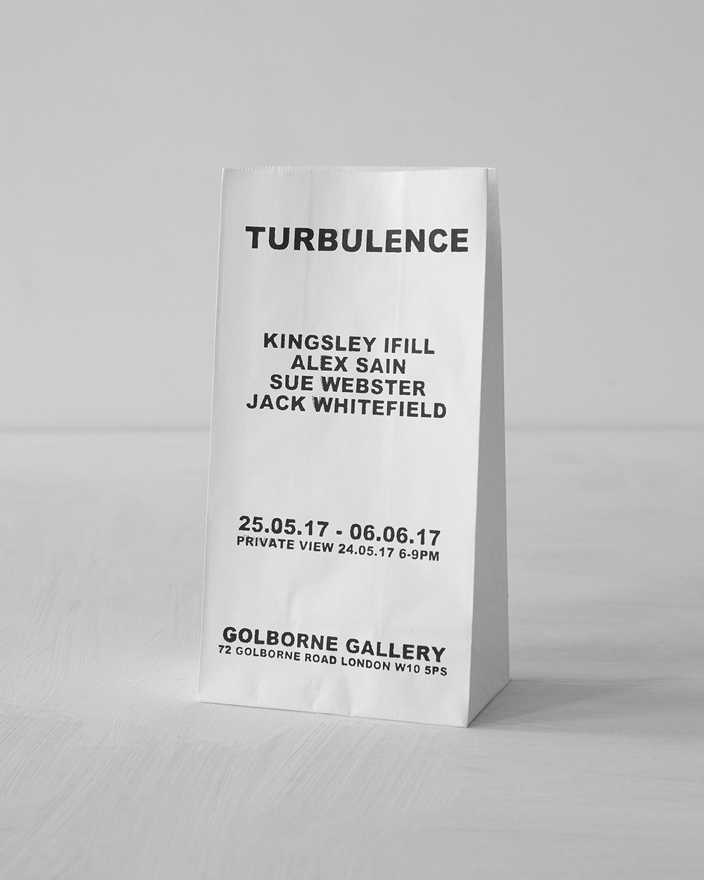 TURBULENCE  Curated By Alex Sain