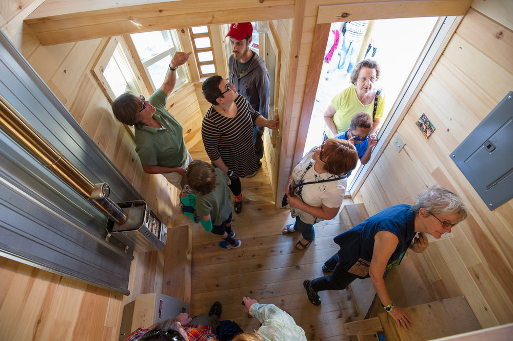 EXPERIENCE the Pop-up Tiny House Village