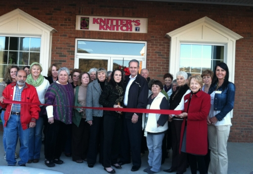 Blairsville - Union County Chamber Ribbon Cutting - 2015