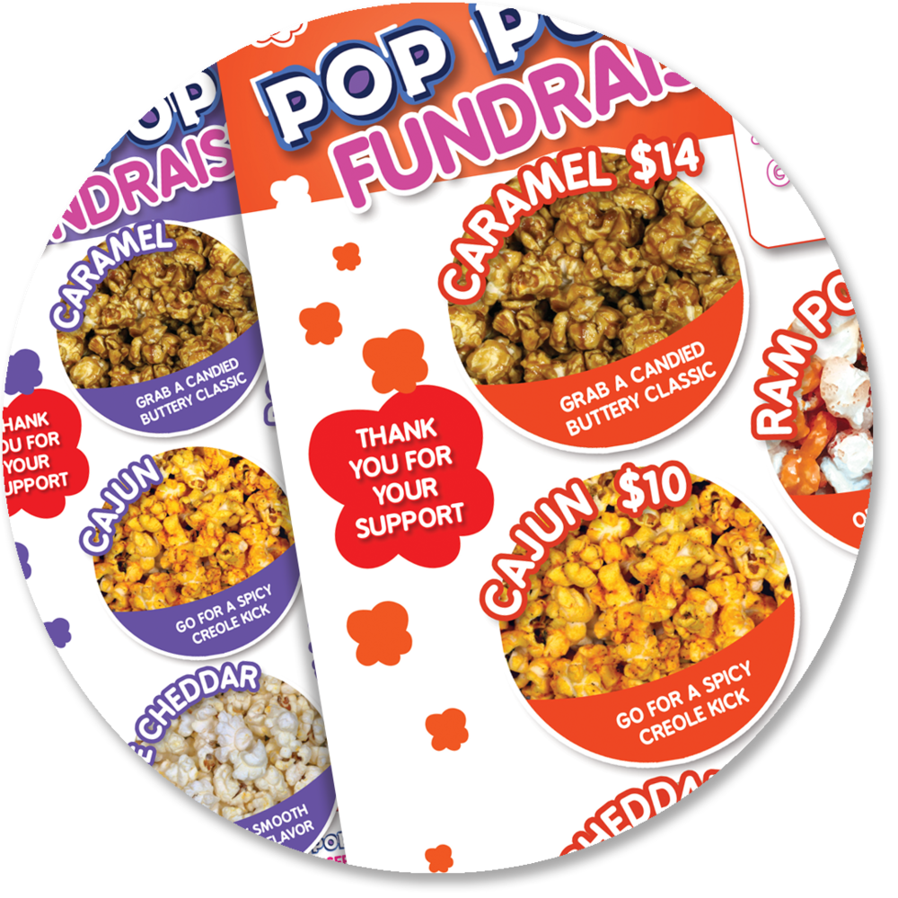 SIMPLE SELLING - Hundreds of thousands of dollars raised!  Fresh world class popcorn, beautifully designed order forms, and fast delivery make selling a snap.