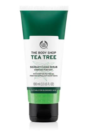 Tea Tree Scrub - I used to use a lot of tea tree products as a teenager and have fallen back in love with them. This scrub, used after a cleanser, is great for removing stubborn make up.