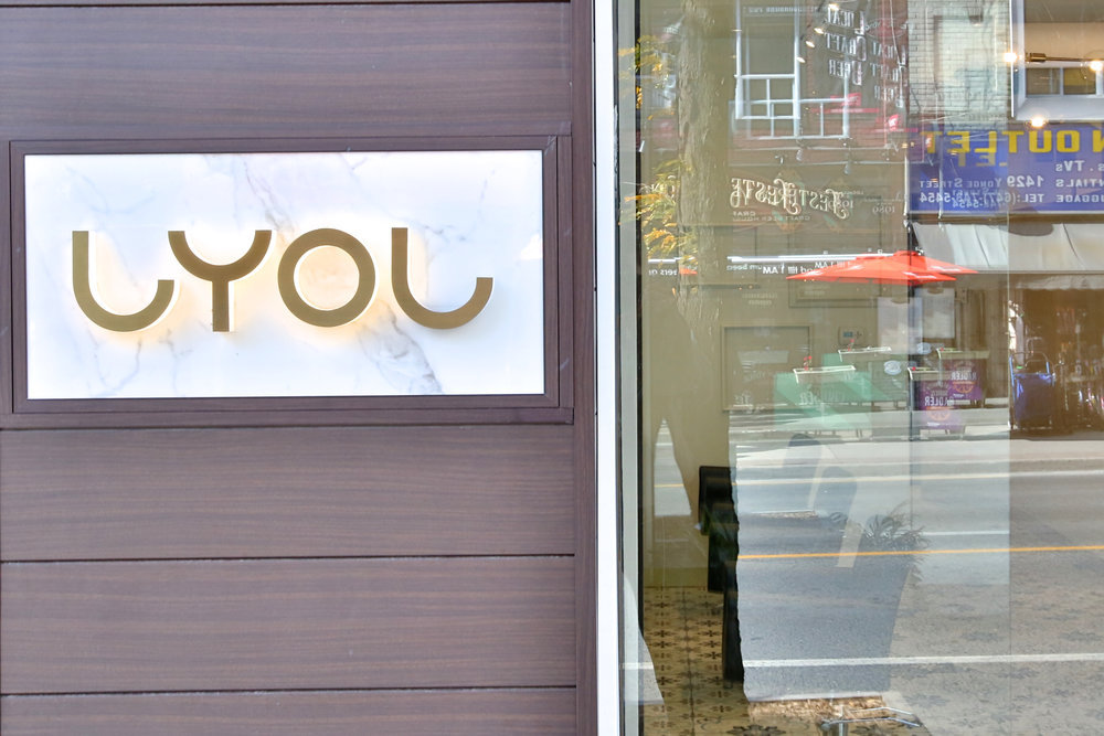 Salon LYOL is located just south of the Yonge and St. Clair intersection. Call 416-922-0611.