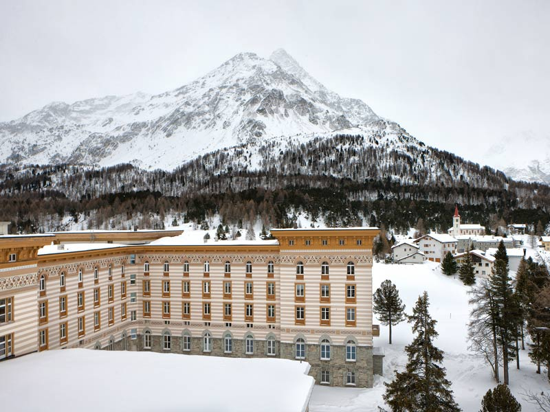 Our festival at Maloja Palace, St. Moritz, Switzerland