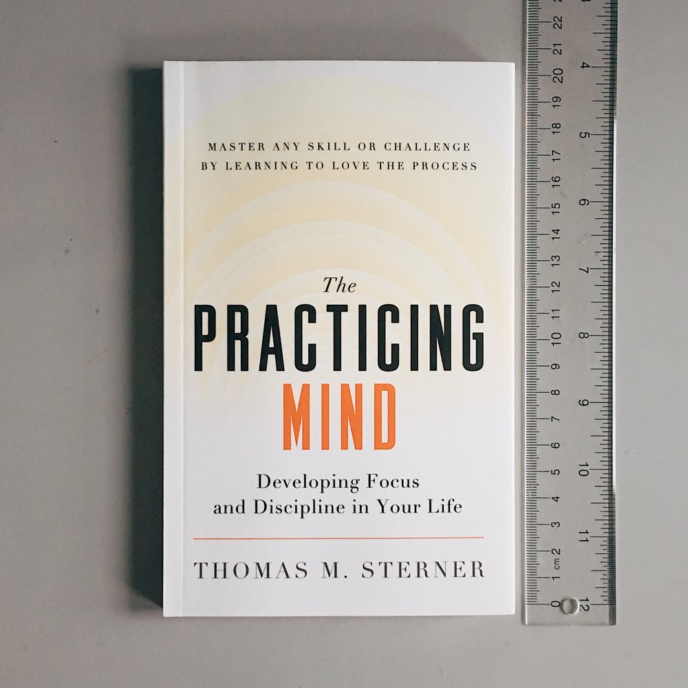 Get your own copy of    The Practicing Mind  .