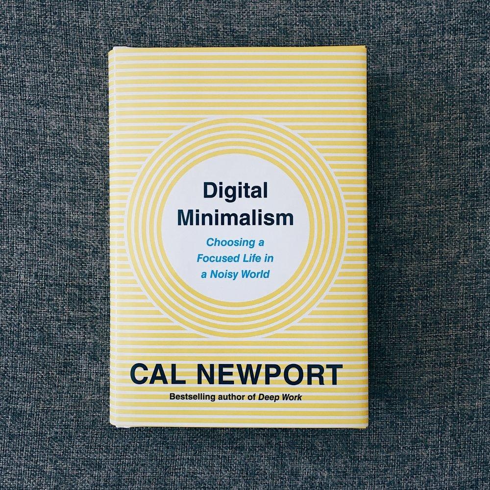 Get your own copy of    Digital Minimalism  .