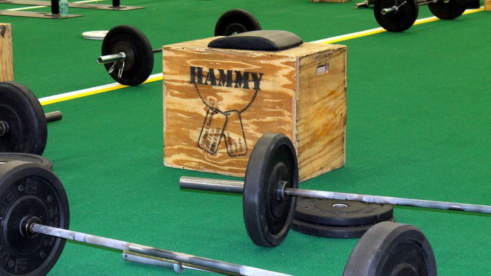 Announcing our home gym giveaway for hammy workout athletes