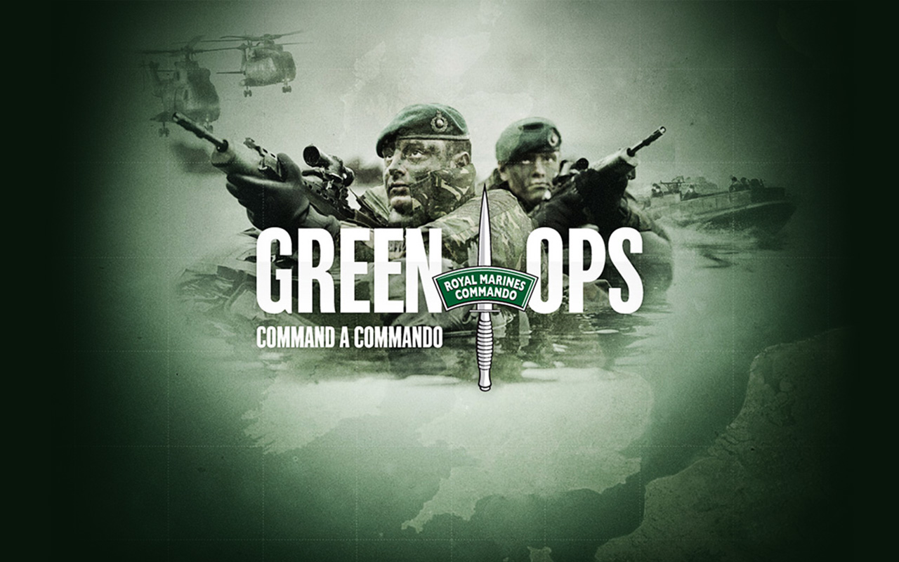 Royal Marines Green Ops Fabio Couto Design