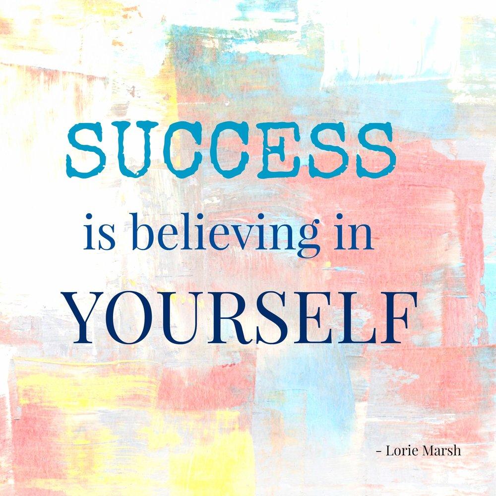 Success-is-belief-in-self-quote