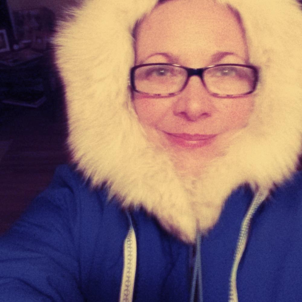 My kickass Alaskan blue anorak.