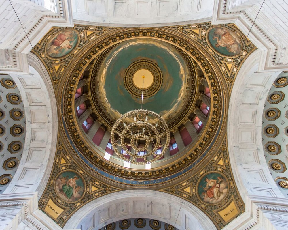 Dome from Below