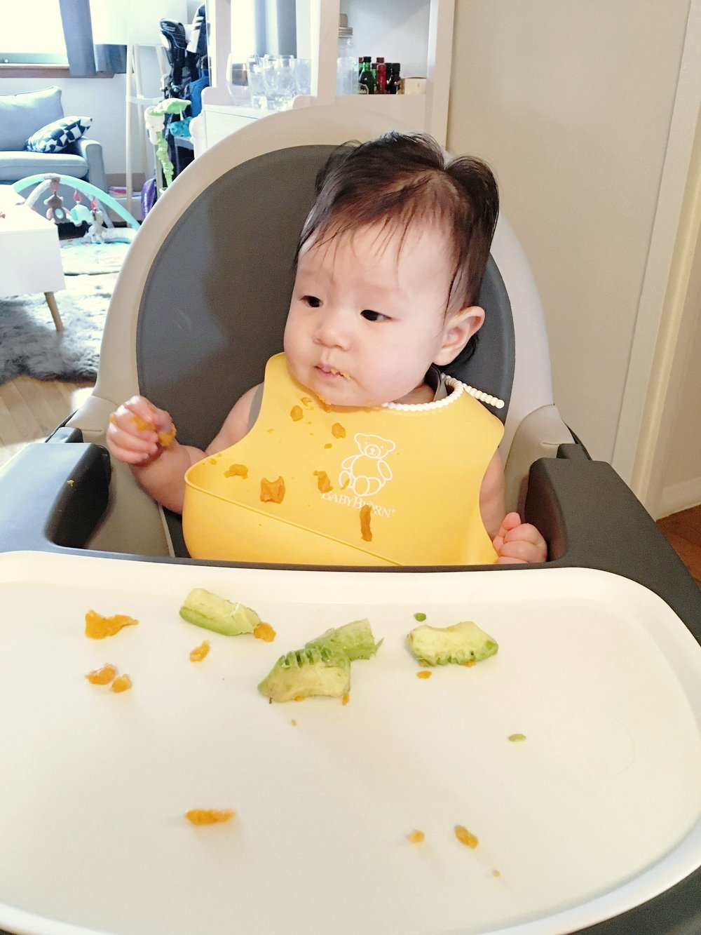 d0484bc4b930 First Time Feeding Solids - Baby Led Weaning — BASICALLY TOT