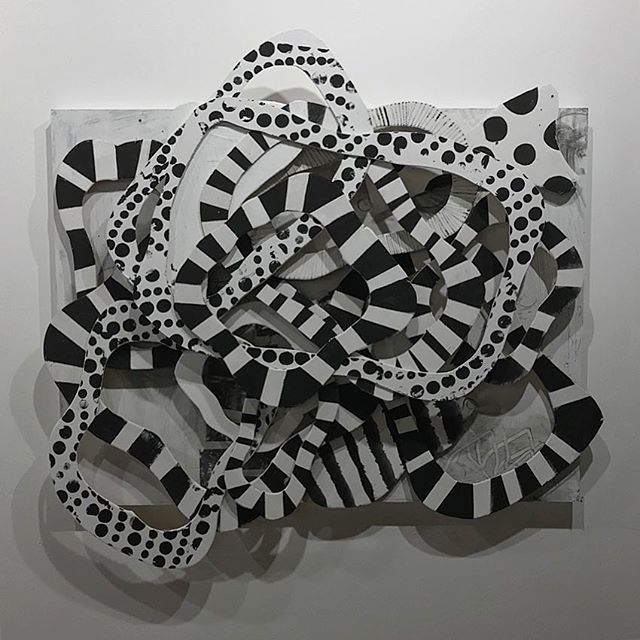 Saw The Disappearing Machine by @peteryumi at @altogallery last night. It's a fun and impressive exhibit. Definitely check it out if yr in Denver . . #denver #colorado #denvercolorado #denverartist #denverart #contemporaryart #mixedmediaart #blackandwhiteart #disappearing #machine #thedisappearingmachine #altogallery #peteryumi