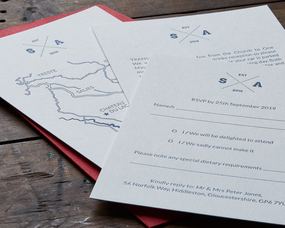 Wedding Information Set