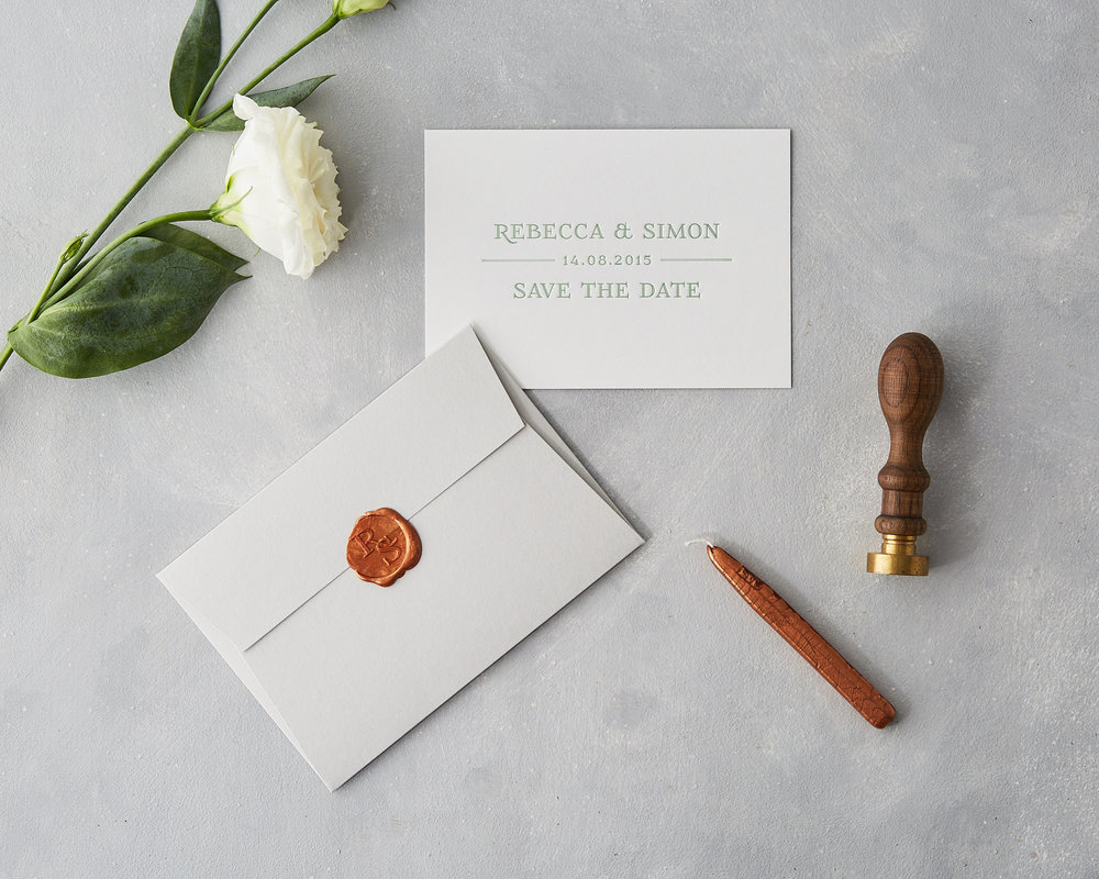 Wax Seal Save The Date