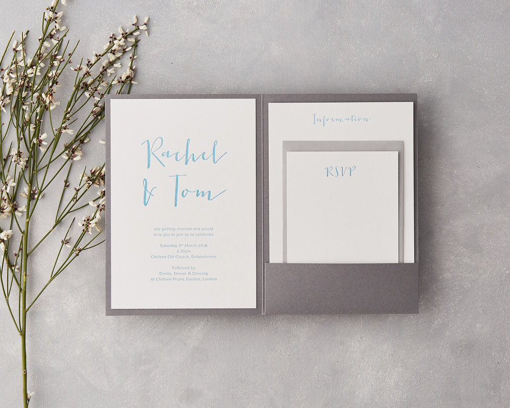 Pocketfold Invitation Set