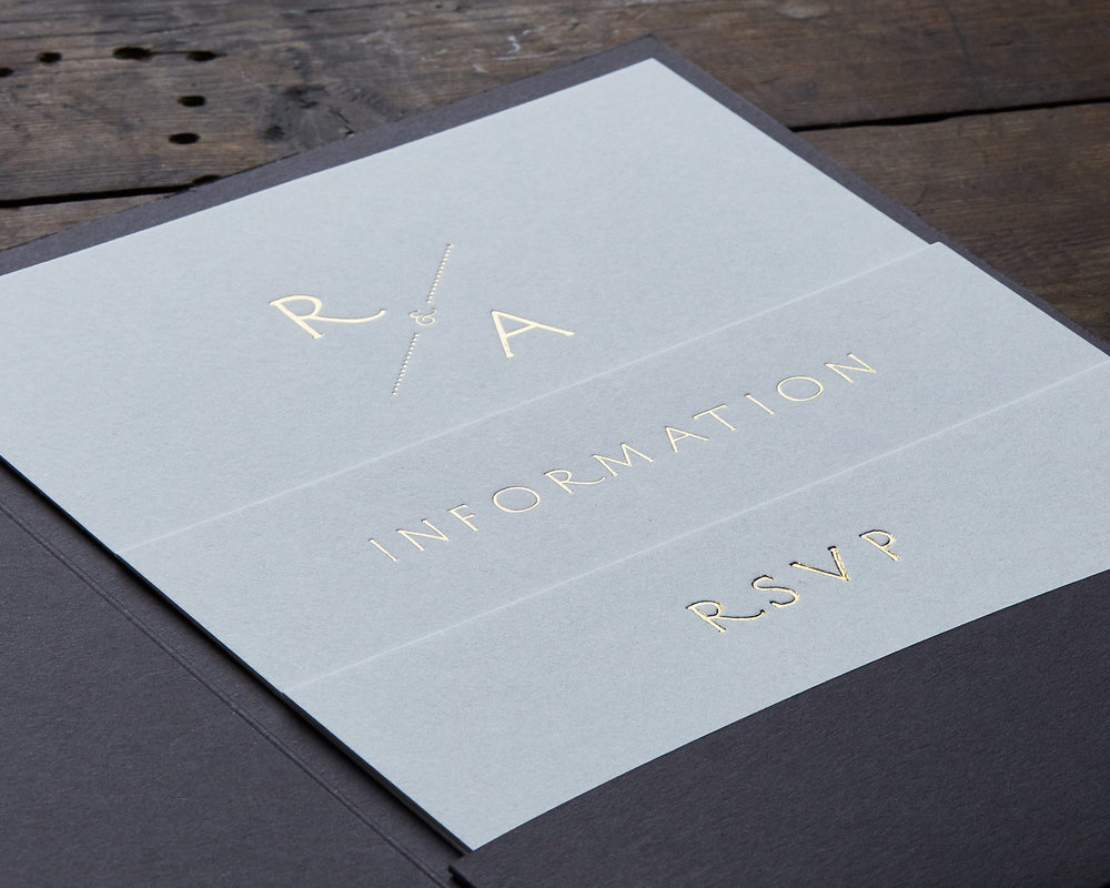 Gold Foil Card detail