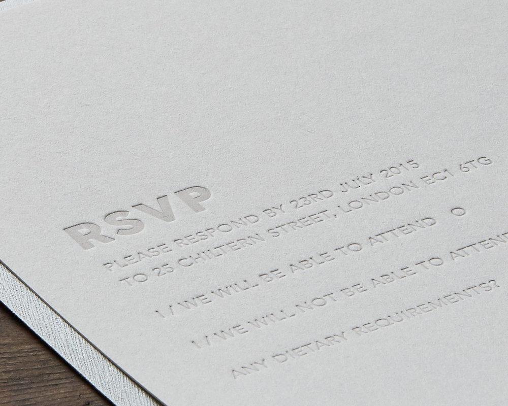 RSVP detail