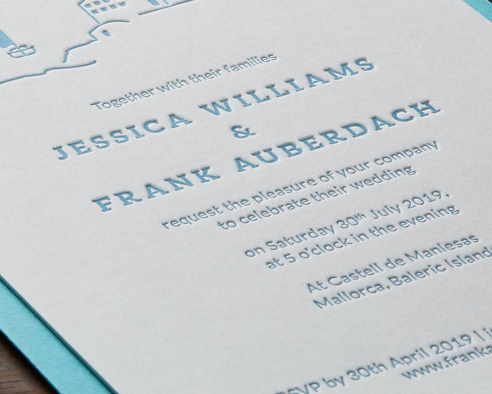 Wedding Invitation Detail