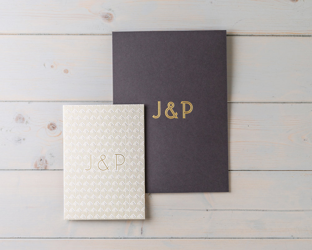 Gold Deco Stationery Bundle