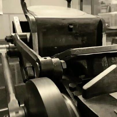 Letterpress Print Process