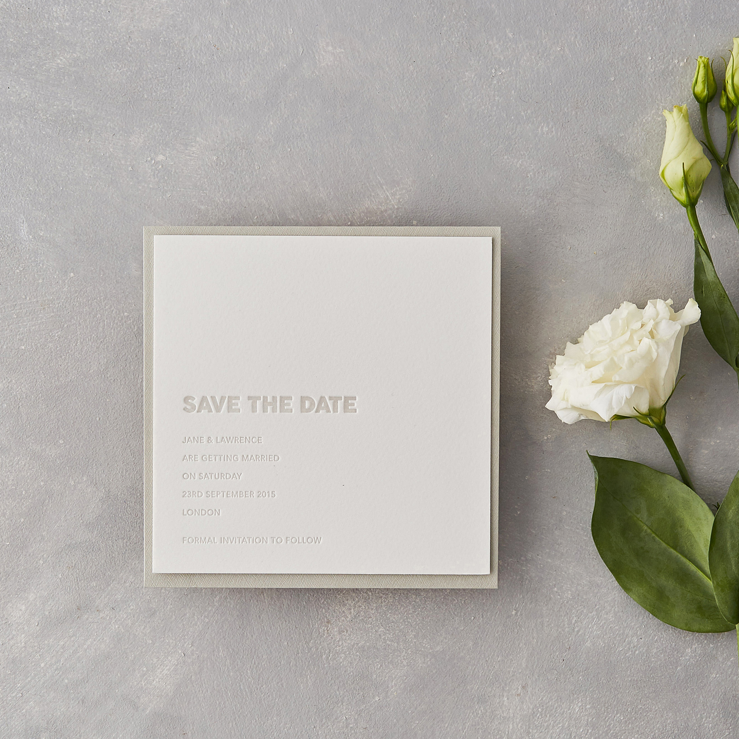 stationery guide save the dates wolf ink