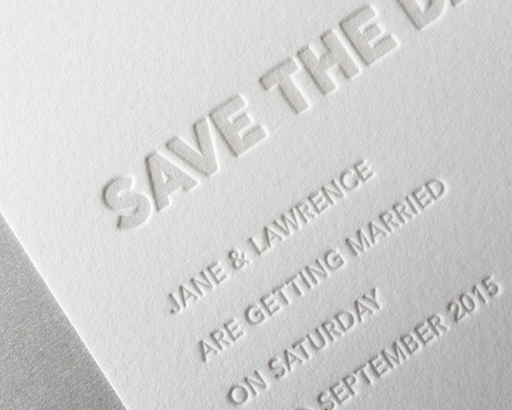 Embossed Printing