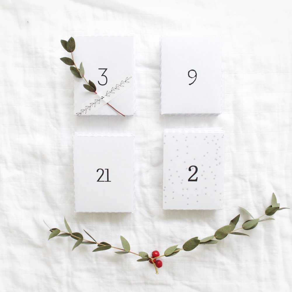 byebyebirdie free advent calendar printable