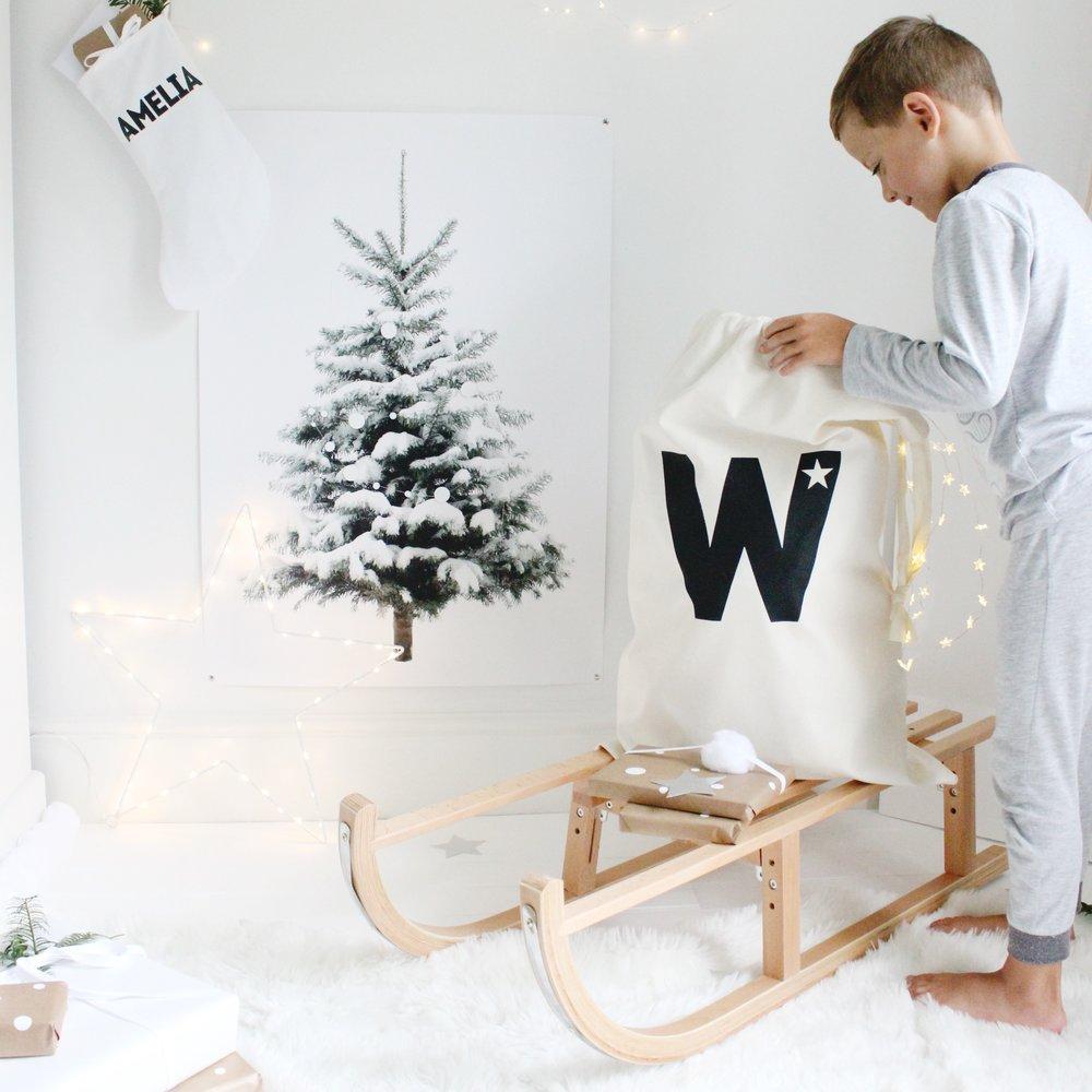byebyebirdie : little christmas tree print