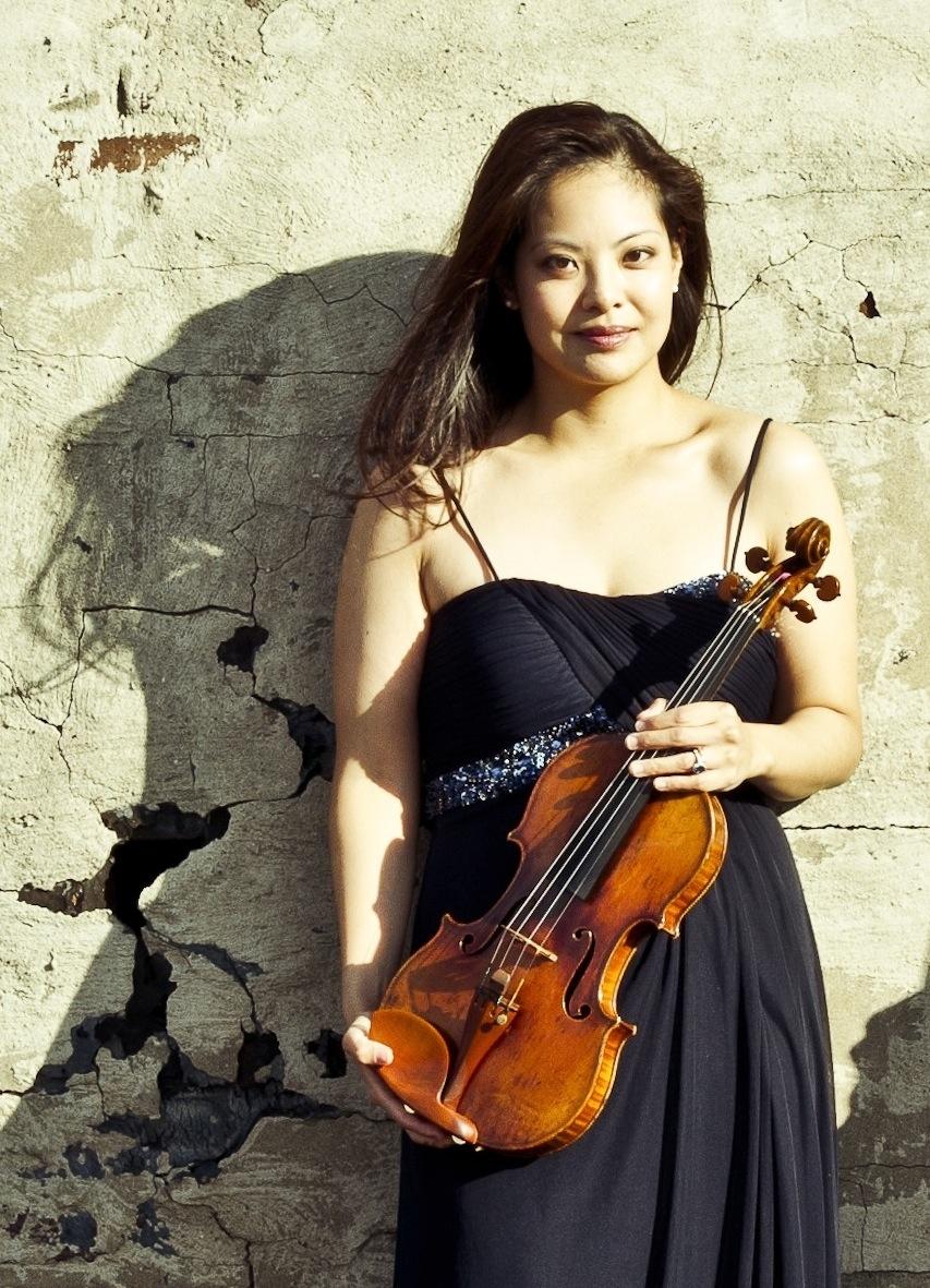 Dr. Caroline Eva Chin, Violin