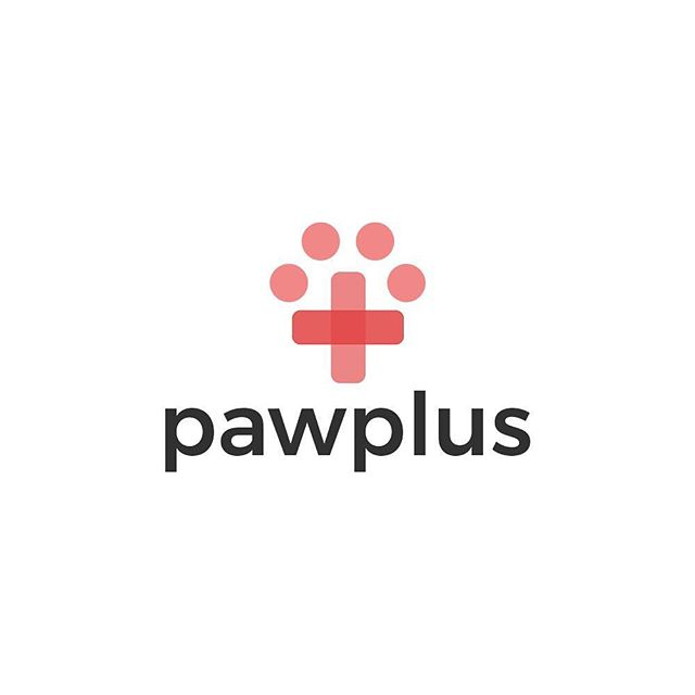 Pawplus logo design 🐶 - I would love to hear what you guys think✌🏼