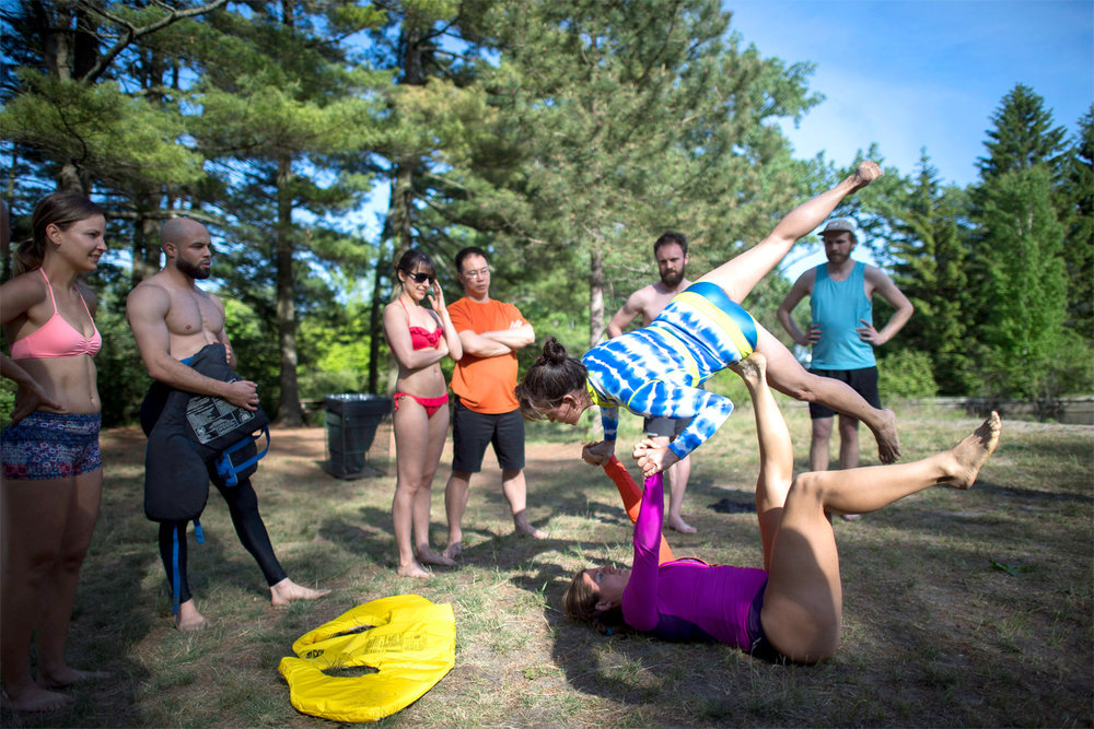 Acro Camp Session with Acro TO