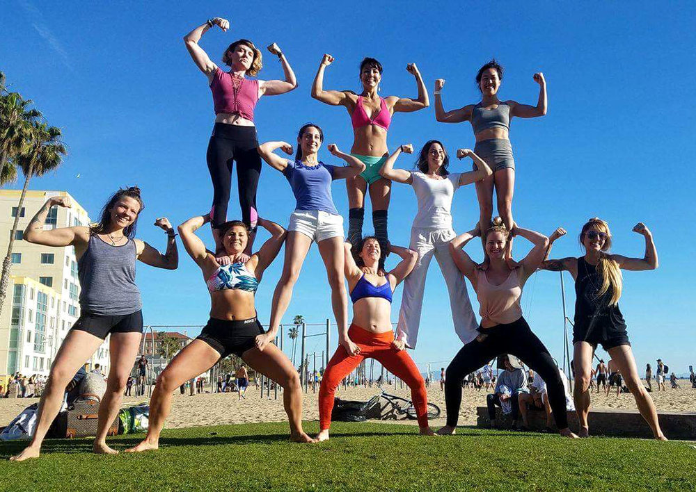 Acro Camp Team