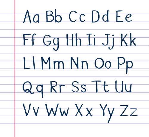 cursive letters lower and upper case when to use capital letters the teatime 26507 | 1491306491506