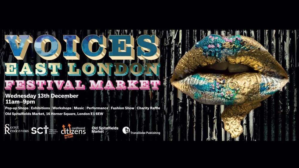 Come and see us at this creative event, eclectic market and exhibition- Christmas shopping has officially started! Paris Essex will be selling and showing lots of lovely knitted scarves and some blankets. Lots of things happening all day- Old Spitalfields market E1 6EW  Click HERE Across eighty stalls focusing on art, fashion, lifestyle, food, music, publishing and charity fundraising, the Voices East London Market Festival will pair the characters and ideas shared in Maryam Eisler's new publication Voices: East London. Co-curated by Mei-Hui Liu, founder of Secret Rendez-Vous, the event brings together the now famous creatives who began their careers at Old Spitalfields Market in the late 1990s. Part exhibition, part retail pop-up, part performance, this is a chance for established as well as upcoming East London personalities – all of whom have been involved in the area's eclectic creative history – to come together and celebrate at the iconic Old Spitalfields Market.