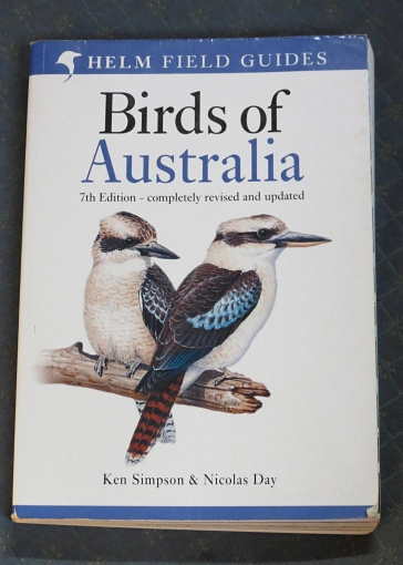 birdwatching book