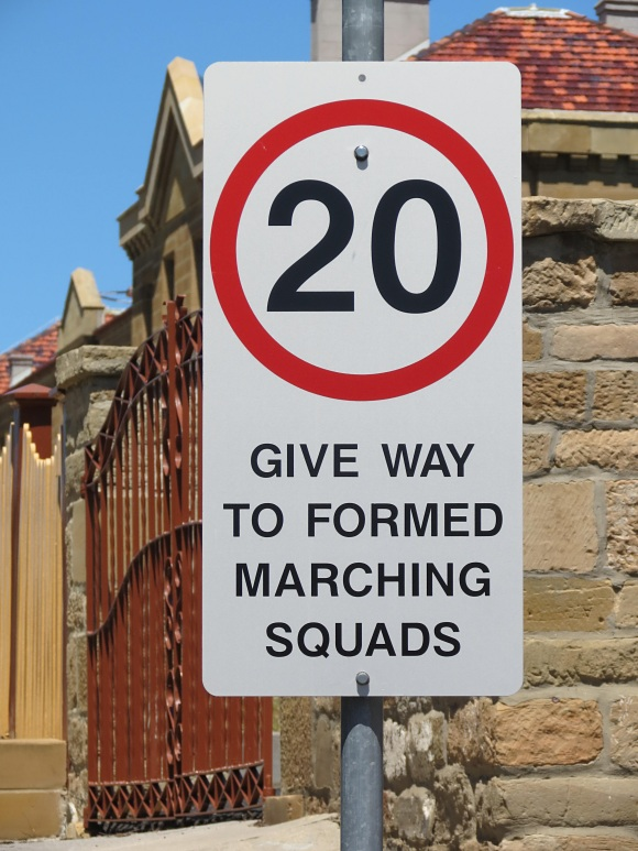 danger_marching squads tasmania