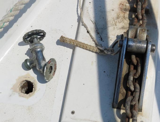 faucet hole
