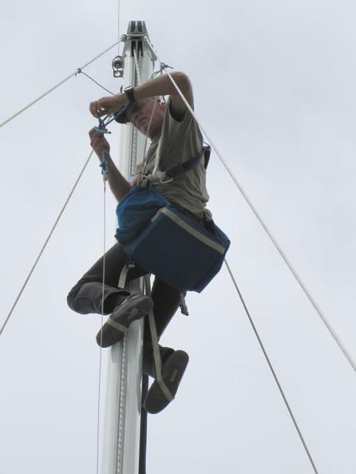 up mast