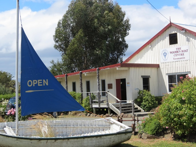 wooden boat centre tasmania