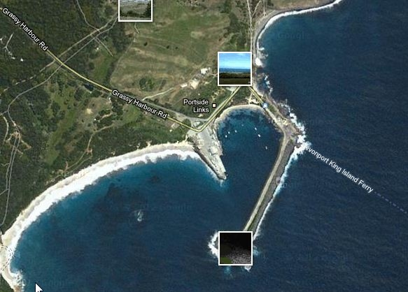 King Island-Grassy Harbour-Google Map